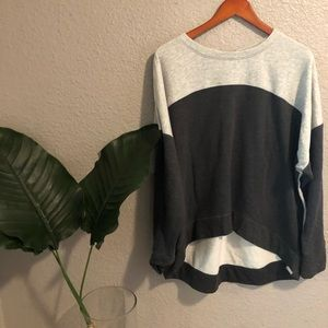 Champion color block sweater